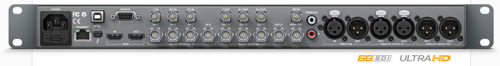 Blackmagic Design HyperDeck Studio Pro Rear Connections
