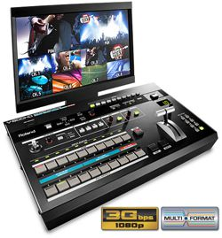 Roland V-800HD Multi-format Video Switcher Rental